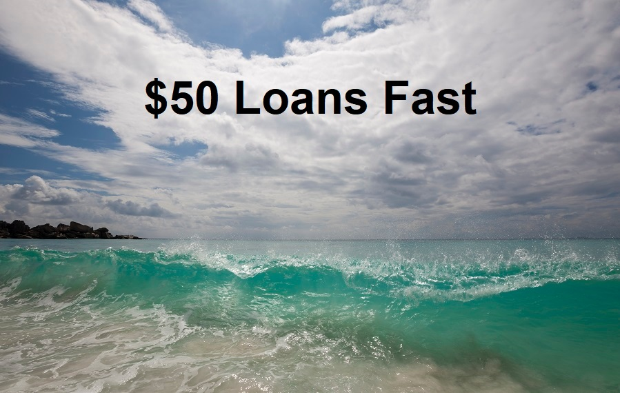 How to get a $50 loan online